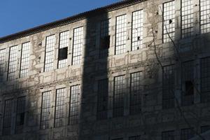 övergivna fabriken