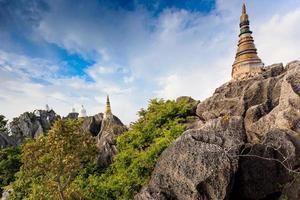 wat prajomklao rachanusorn i lampang, Thailand foto