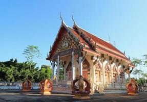 tempel på wat chula jindaram foto