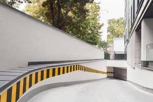 ramp till byggnad foto