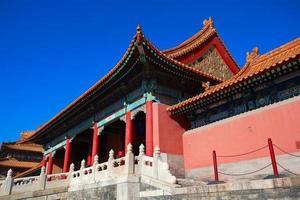 förbjuden stad i Peking Kina