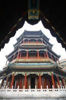 sommarpalats i Peking, Kina foto