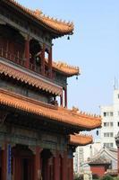 lama tempel i peking Kina