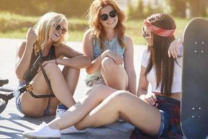 sommartid kan bara tillbringas med mina vänner foto