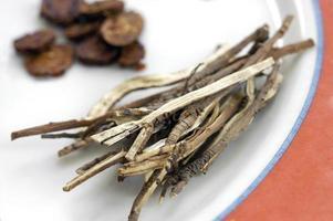 traditionella kinesiska medicinalväxter 2 foto