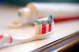 tandkräm foto