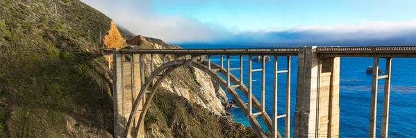 bixby bridge panorama foto