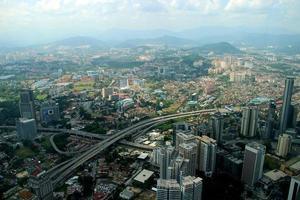 stadsbild - Kuala Lumpur, Malaysia foto