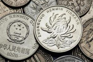 kinesiska mynt foto
