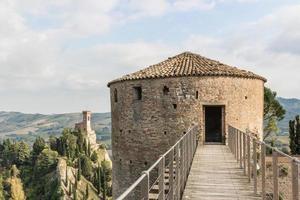 venetians medeltida fästning i brisighella foto