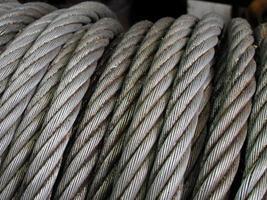 rostig kabelsnör foto
