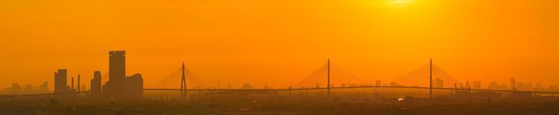 bhumibol bridge foto