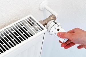 uppsättning av hemmatemperatur foto