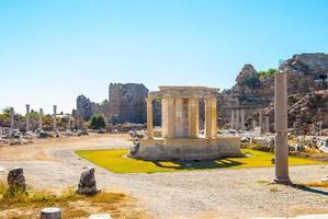 ruiner av forntida stad foto