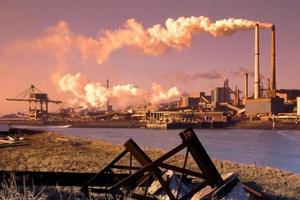 stål industri foto