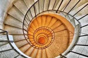 spiraltrappa hdr foto