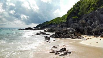 stenig strand foto