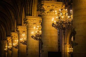 kyrkans inre kolonnad foto