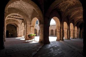 gammal kloster foto