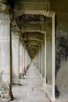 korridor i Angkor wat foto