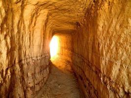 tunnelns ände foto