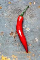 röd chili papper foto
