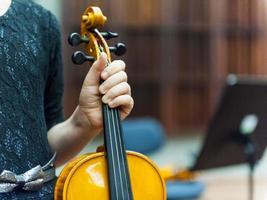 orkesterprövning foto