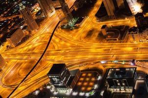 korsning i Dubai (Förenade Arabemiraten) foto