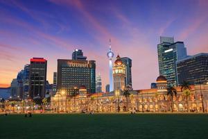 merdeka torg i Kuala Lumpur foto
