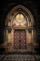 gotisk ingång foto