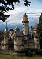 romantiskt slott foto