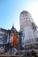 tempel i ayuddhaya foto
