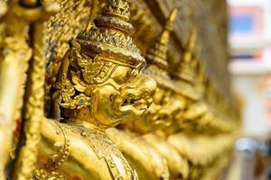 gyllene garuda, grand palace, Thailand foto