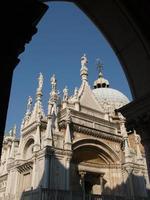 gård till dogens palats i Venedig foto