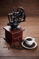 stilleben med kaffe foto