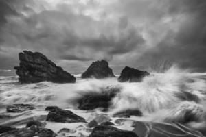 dramatiska havet foto