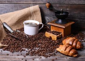 kaffe bakgrund foto