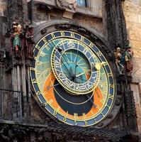 astronomisk klocka foto