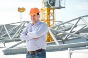 verkställande chef för projektet vid byggandet.