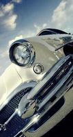 retro bil - amerikanska klassiker foto