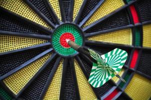 dartpilar i målcentret, dartsspel foto