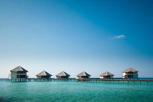 maldiverna watervilla foto