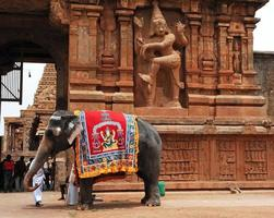 Indien Syd-Indien Tanjore: Brihadishvara tempel foto