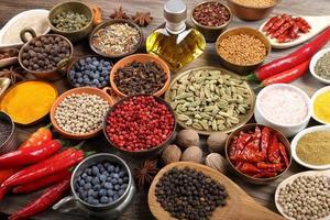 indiska kryddor. foto