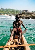 indisk fiskare foto