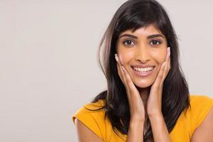 elegant indisk kvinna foto