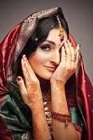 indisk skönhet foto