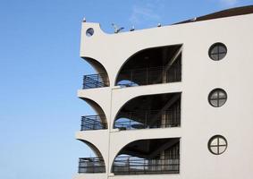 modern arkitektur - balkonger foto