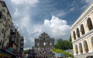 ruinerna av Saint Pauls katedral foto