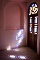 inre fönster i iran foto